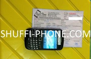 BB 8520 tidak bisa aplikasi BBM dan ttidak baca MMC atas nama Ibu Santi