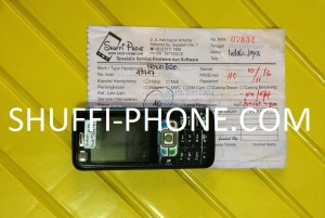 Nokia 6120 on off macet atas nama Bapak Budi IJ