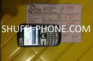 Nokia C3-00 blank putih atas nama Ibu Maura