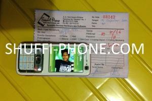 Nokia N73 LCD pecah atas nama Ibu Iin