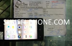 Oppo R1001 cuma getar atas nama Bapak Hartono