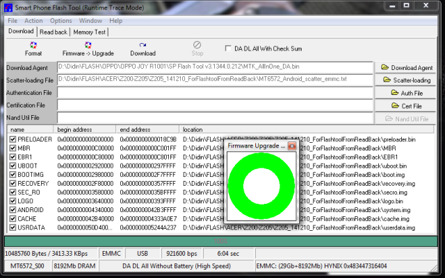 Cara Mudah Flashing Acer Liquid Z200-Z205 Bootloop