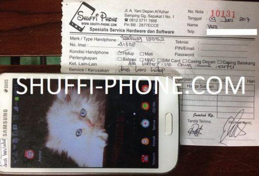 Samsung i8552 Di charge baru hidup atas nama Ibu Vera