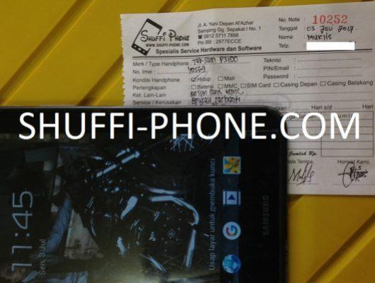 Samsung p3100 Aplikasi terhenti atas nama Bapak Muklis