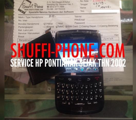 BlackBerry Onix Layar gelap Bapak Agus