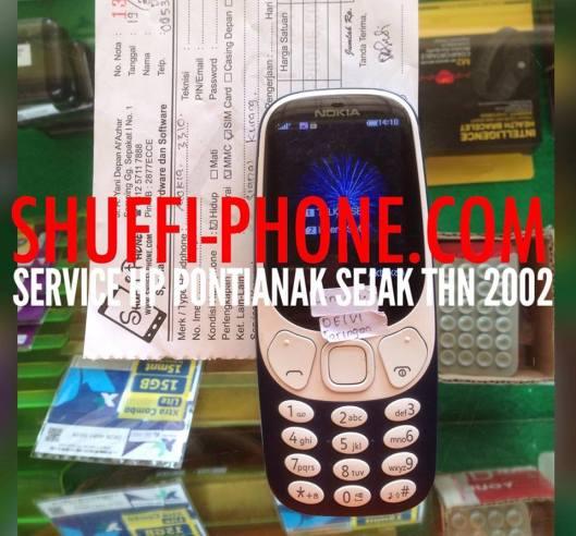Nokia 3310 New Signal lemah Ibu Delvi