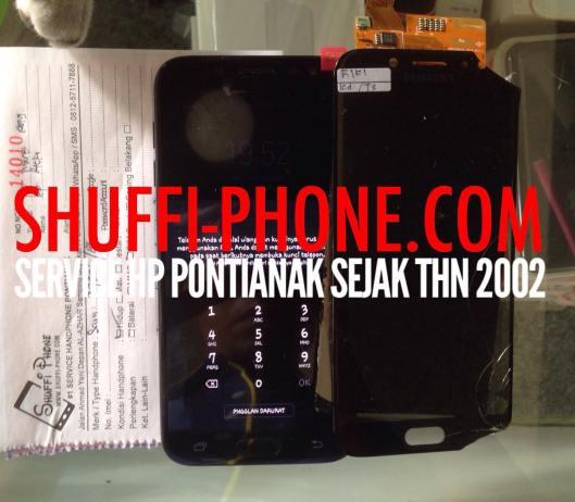 Samsung J730G DS Layar Pecah Ganti Lcd Bapak Ricki