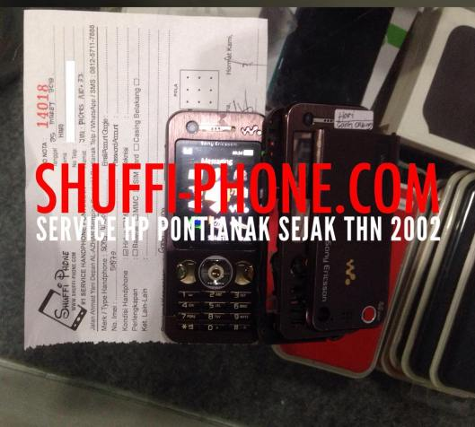Sony W890i Ganti casing Bapak Hari